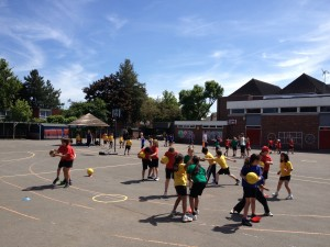 Hampton Hill Junior PE Lesson