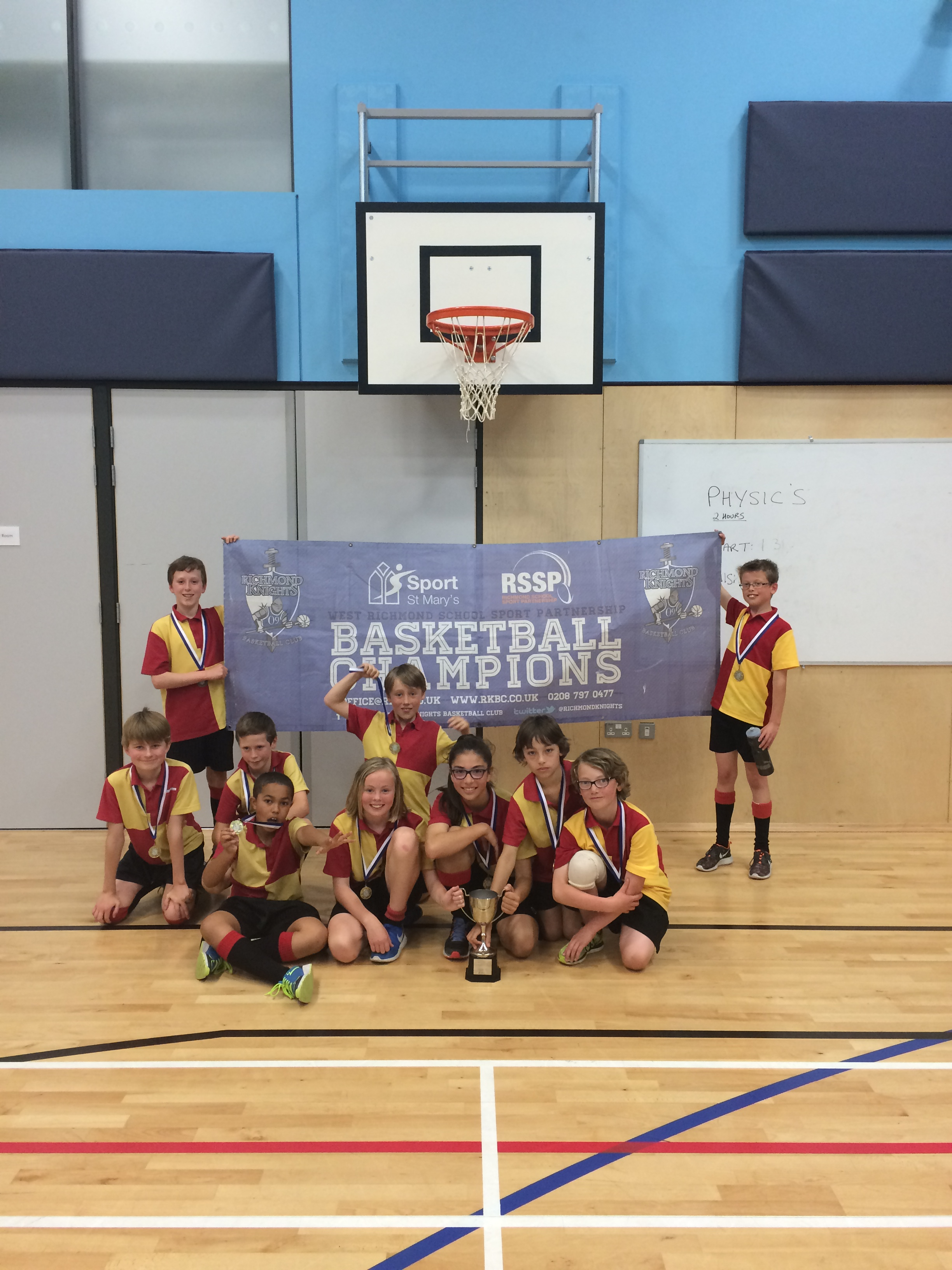Year 5&6 Borough Playoffs – East vs West! – Knights Basketball
