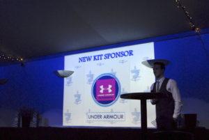 New Kit Sponsor Under Armour